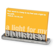 Journey Scripture Card Holder  -