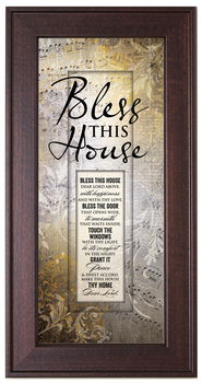 Bless This House Framed Art  -