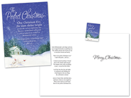 Perfect Christmas Card with Magnet, Package of 18  -