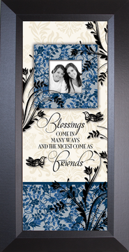 Blessings Come...Sharing Life, Framed             -