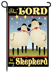 The Lord is My Shepherd Flag, Small   -
