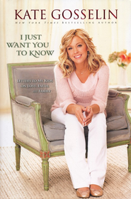 I Just Want You To Know: Letters to My Kids on Love, Faith, and Family  - Slightly Imperfect  -