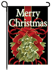 Merry Christmas Flag, Small   -