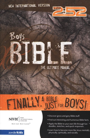 NIV Boy's Bible - Hardcover  1984  -              By: Rick Osborne