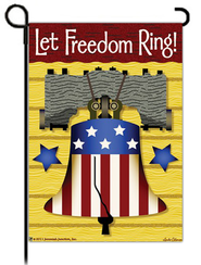 Let Freedom Ring Flag, Small  -              By: FLAG
