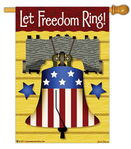 Let Freedom Ring Flag, Large  -              By: FLAG