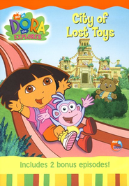 Dora the Explorer: Big Sister Dora/City of Lost Toys, DVD   -