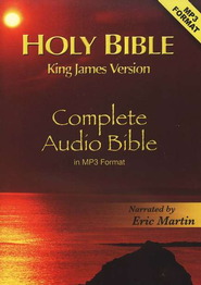 KJV Complete Bible on 2 CD's (MP3)   -     Narrated By: Eric Martin     By: Eric Martin