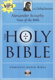 KJV Complete Bible on 6 CD's (MP3)   -     Narrated By: Eric Martin     By: Alexander Scourby