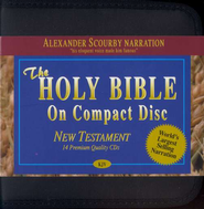 KJV New Testament on CD's   -              Narrated By: Alexander Scourby                   By: Alexander Scourby