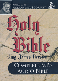 KJV Complete Bible-audio on MP3  -     Narrated By: Alexander Scourby     By: Alexander Scourby
