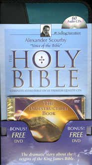 The KJV Complete Bible on CD with FREE DVD   -     Narrated By: Alexander Scourby     By: Narrated by Alexander Scourby