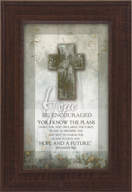 Hope, Be Encouraged Framed Print  -