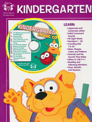 Kindergarten Activity Book & CD   -