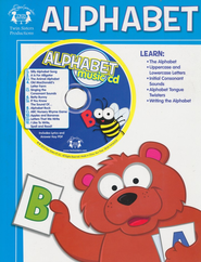 Alphabet Activity Book & CD   -