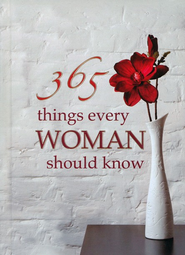 365 Things Every Woman Should Know Gift Book   -