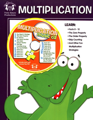 Multiplication Activity Book & CD   -