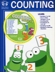 Counting Activity Book & CD   -