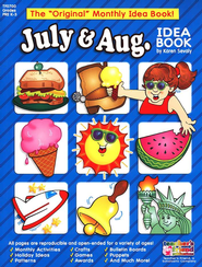 July-August Monthly Idea Book  -