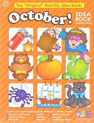 October Monthly Idea Book  -