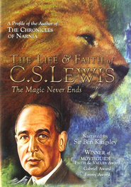 The Life & Faith of C.S. Lewis: The Magic Never Ends, DVD   -