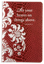 Set Your Hearts on Things Above Pocket Journal  -