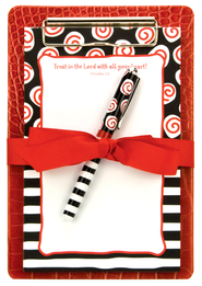 Trust in the Lord Clipboard Gift Set  -