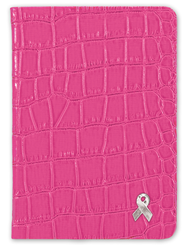 Pink Ribbon Pocket Journal  -