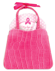 Pink Ribbon Purse  -