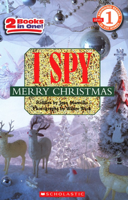 I Spy Merry Christmas (Level 1)  -              By: Jean Marzollo                   Illustrated By: Walter Wick