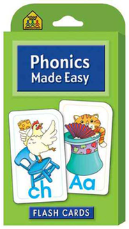 Phonics Made Easy, Flash Cards for Beginners  -
