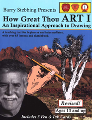 How Great Thou Art I: An Inspirational Approach to Drawing, Revised  -     By: Barry Stebbing