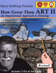 How Great Thou Art II: An Inspirational Approach to Drawing, Revised  -     By: Barry Stebbing
