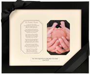 My Daddy's Hands Photo Frame  -