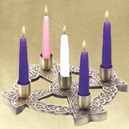 Celtic Advent Wreath, Bronze Finish   -