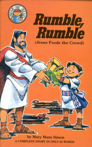 Rumble, Rumble (Jesus Feed the Crowd): A Hear Me Read Book   -     By: Mary Manz Simon, Dennis Jones