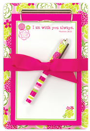 I Am With You Always Clipboard Set  -