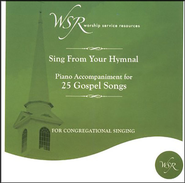 25 Gospel Songs, Accompaniment CD   -