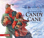The Legend of the Candy Cane Board Book   -     By: Lori Walburg