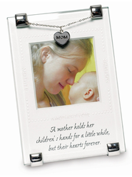 A Mother Holds Her Children's Hand Photo Frame  -