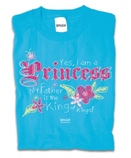 Princess II Shirt, Blue, 4T  -