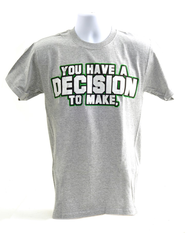 Choose to Receive Shirt, Gray, 3X Large   -