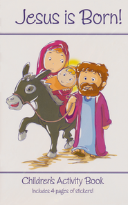 Jesus is Born Children's Activity Book  -