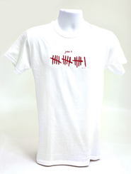 John 3:16 Shirt, White, Medium  -