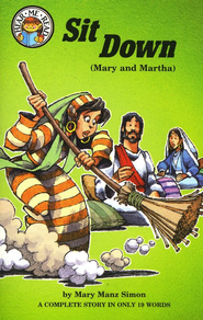 Hear Me Read: Sit Down (Mary and Martha)   -     By: Mary Manz Simon, Dennis Jones
