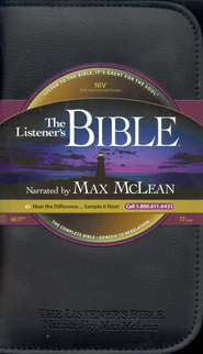 The NIV Listener's Bible on CD--66 CDs  1984  -     Narrated By: Max McLean     By: Narrated by Max McLean