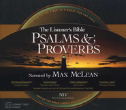 The NIV Listener's Psalms & Proverbs on CD--6 CDs  1984  -     Narrated By: Max McLean     By: Narrated by Max McLean