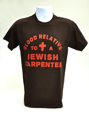 Blood Relative Shirt, Brown, Large   -
