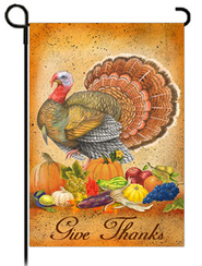 Give Thanks Art Flag, Small  -