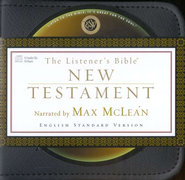 The ESV Listener's New Testament on CD Audio Bible 15 CDs  -     By: Max McLean